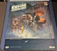 Star Wars The Empire Strikes Back CED Capacitance Electronic Disc Stereo CBS Fox