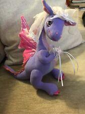 Barbie Penelope Plush Dragon Bride Wedding Toy Pink Mattel 2005 Rare Collec