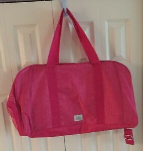 Thirty-One Signature Collection - All Packed Duffle - Pink - Unknown Pattern