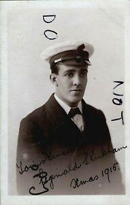 WW1 sailor Petty Officer Writer 2nd Class Reginald Samuel Kirkham Royal Navy