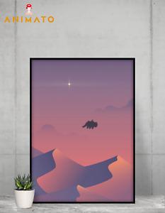 Avatar legend of Aang Poster Appa Wall Art premium print design Size - A4 A3 A2