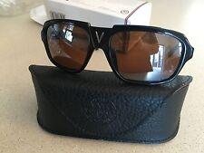 Vuarnet Sunglasses VL 1105 SKILYNX MINERAL GLASS LENS BLACK NEW