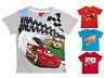 Boys Disney Cars Lightning McQueen T Shirt Short Sleeve Top Childrens Kids Size