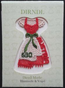 "2016 ""Austria"" Traditional Dirndl Dress Scarce Embroidered VFMNH Stamp, LOOK!"