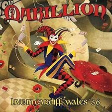 [CD] Alive The Live Live In Cardiff, Wales '86 Marillion IACD10203 From Japan
