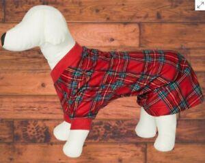 Matching Pet Brinkley Plaid Family Pajamas,  3 Sizes