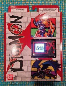 Backlight Backlit Digimon Digivice X DMX - Black / Red - Virtual Pet English NEW