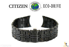 Citizen Eco-Drive AR3015-53E 20mm Black Ion Plated Stainless Steel Watch Band