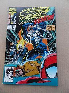 Ghost Rider / Blaze : Spirits of Vengeance  5 . Venom . Marvel 1992  - VF +