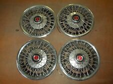 "77 78 79 80 Ford Mustang Pinto Bobcat Hubcap Rim Wheel Cover Hub Cap 13"" WIRE 4"