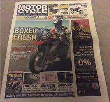 MOTOR CYCLE MONTHLY 2013 BMW R1200GS, KTM1190, HONDA CB1100. YAMAHA YBR 125 etc