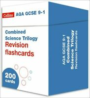 NEW AQA GCSE 9-1 COMBINED SCIENCE REVISION FLASHCARDS MINT COLLINS GCSE HARPERCO