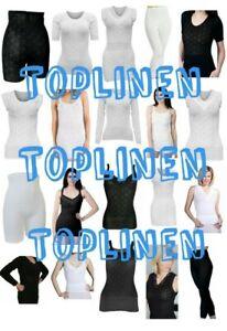 Ladies Snowdrop Thermal Underwear - cotton soft Vest Tops & pantee, Long Johns