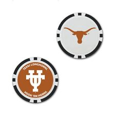 TEXAS LONGHORNS HOOK'EM HORNS OVERSIZE GOLF MARKER POKER CHIP NEW WINCRAFT