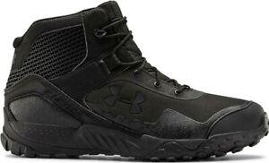 "Under Armour Men's UA Valsetz RTS 1.5 5"" Tactical Black Boots - 3022853-001"