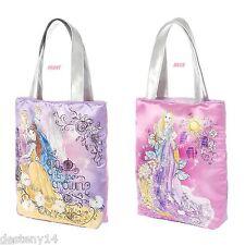 Disney Princess Sketch Drawings Tote Bag Purse Cinderella Belle Sleeping Beauty