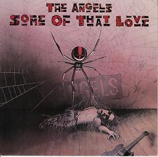 """THE ANGELS  Some Of That Love PICTURE SLEEVE 7"""" 45 record + juke box strip RARE!"""