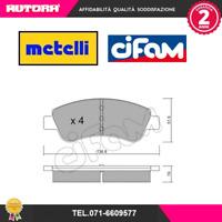 8223270 Kit pastiglie freno a disco ant. Citroen-Peugeot (MARCA-CIFAM,METELLI)