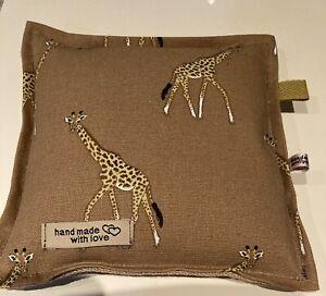 Needle felting pad Sophie Allport Brand New Design Giraffe HessianRice Filled