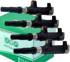 4x PENCIL IGNITION COIL PACK FOR RENAULT CLIO LAGUNA MEGANE SCENIC KANGOO TRAFIC