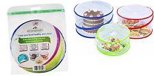 Outdoorwares 3 Pop Up Food Cover Protectors Set | Fine Mesh Screen, Bottomles...