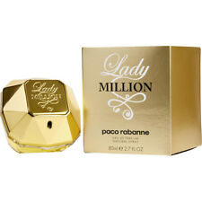 LADY MILLION 80ml EAU DE PARFUM SPRAY FOR WOMEN BY PACO RABANNE  NEW EDP PERFUME