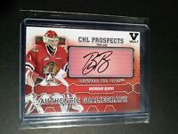 2012-13 ITG VAULT Brendan Burke Between The Pipes  Autograph CHL Prospects