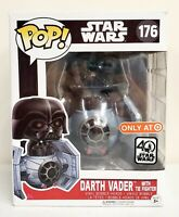 Funko Pop Star Wars Darth Vader with Tie Fighter #176 40th Target Exclusive