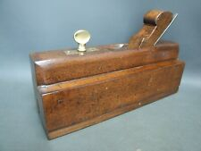 Wooden glass check plane vintage old tool by Currie