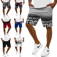 b0c5232aeba53e Kurzhose Hose Jogging Sportshorts Bermudas Fitness Herren OZONEE 9776 MIX