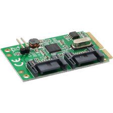 InLine mini-pci-express MAPA , 2x SATA 6GB/S (SATA 3.0)