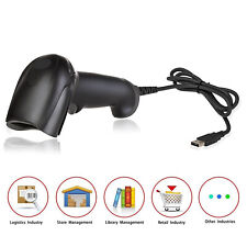 1D Handheld Wired Fast Laser Barcode Scanner Usb Auto Code Scan Reader For Mac