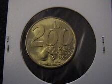 SAN MARINO 1991 moneta da 200 LIRE FDC PRIMA MONETA 1864