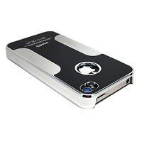 Luxury Premium Chrome Brushed Aluminum Hard Case Cover for Apple iPhone 4 4s