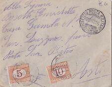 BUSTA SEGNATASSE 10 + 5 CENTESIMI 1915 UFFICIO POSTA MILITARE DIVISIONE  2-112