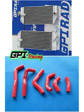 FOR HONDA CRF450R CRF450 2002 2003 2004  Aluminum radiator&silicone hose