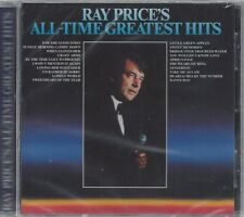 RAY PRICE ALL TIME Greatest Hits Danny Boy Crazy Arms For The Good Times NEW CD