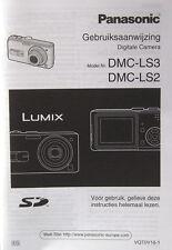 Panasonic DMC-LS3/DMC-LS2 Gebruiksaanwijzing/dutch manual - (14398)