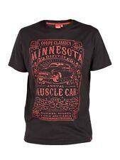 *NEW* Big Size Mens Minnesota Muscle Car T Shirt - 3XL 4XL 5XL 6XL Black Or Blue