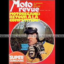 MOTO REVUE N°2159 MORINI 350 SS 3 ½ HONDA CR 125 250 M ELSINORE SERGE BACOU 1974