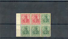 GERMANY, BOOKLET PANE  MI  HB23aaA VF LH GERMANIA $100