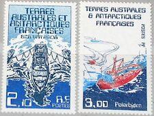 Taaf FSAT 1986 Maury 123-24 212-13 navires research ships navires de recherche MNH