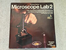 Salter Toys Vintage Microscope Lab 2 - Up to 750x magnification - Boxed