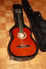 Gitarre (Clifton), Gitarrenkoffer (Stagg), Gitarren Fußbank - Gebraucht