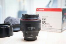 Canon EF 85mm F/1.2 L USM Lens