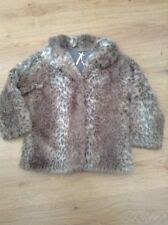 Next Faux Fur All Seasons Party Girls' Coats, Jackets & Snowsuits (2-16 Years)