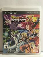 Dragon Ball Z: Battle of Z PS3 Playstation 3 No manual Excellent Disc Ships Free