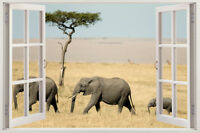 Wall Elephant Nursery Removable Decor Stickers Vinyl Decal Kids Art Tree Sticker