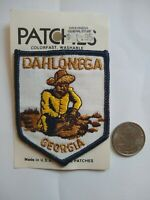 New in Package Vintage 1980s Dahlonega Georgia Souvenir Patch