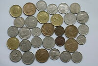 BELGIUM OLD CURRENCY COINS LOT B13 XN24